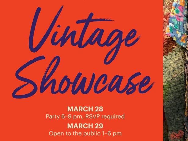 vintage showcase info