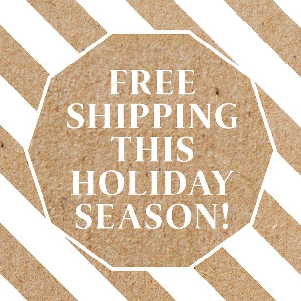 free shipping wolffer holiday season