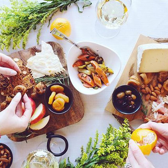 "Comment: wolfferwine said ""We're getting hungry! 🍽🍢🥐🧀🥕🍅 Today we're pairing our Sauvignon Blanc 2017 with a delectable tasting board featuring local cheeses, dried fruits and roasted veggies! . . . . . .  #wolffer #wolfferwine #wolfferstate #wolfferstyle #wolffervineyard #redwine #roséwine #rosewine #wino #winot #winetime #happyhour #saturday #cheers #cheerstotheweekend #winepairings #winetasting #vineyard #wineries #pink #shadesofpink #millenialpink #flatlay #cheeseandwine #winetime #saturdaynight #weekendvibes"""