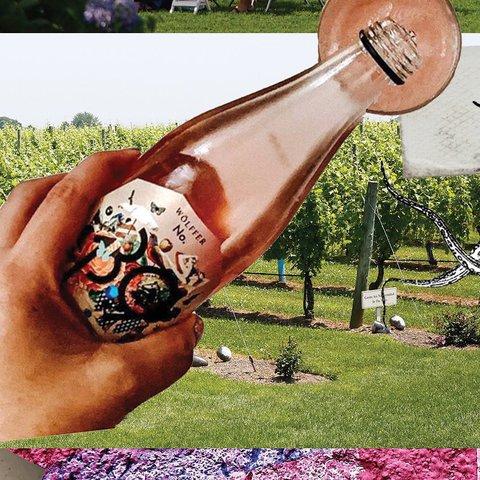 Pour us a glass too, please! . . . . . . . .  #wolffer #wolfferwine #wolfferestate #wolfferestatevineyard #wolfferstyle #wine #winemaking #winelover #winetasting #wolffercider #wolfferrose #rosecider #rosécider #familybusiness #roséallday #Rosé #roséseason #drinklocal #sustainablefarming #cherrybombe #bombesquad #hamptons #sustainability #vineyardviews #summerinabottle #montauk #smallbiz #eastend #nyc