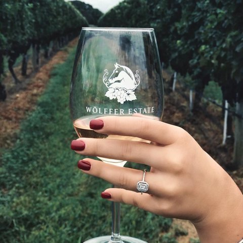 Raising our glass to the weekend 🍷 Will we see you at our @pawpawpopup or our Barstool Series class tomorrow? 📸: @rexhinaaa . . . . . . . . . . . .  #wolffer #wolfferwine #wolfferestate #wolfferestatevineyard #wolfferstyle #wine #winemaking #winelover #winetasting #wolffercider #wolfferrose #rosecider #rosécider #hardcider #roséallday #Rosé #roséseason #applecider #summerdrink #pinkdrink #sparkling #bubbly #summereats #pooldays #beach #montauk #hamptons #eastend #nyc
