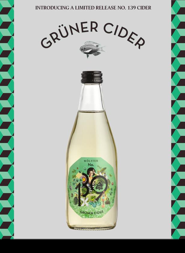 New No 139 Gruner Cider