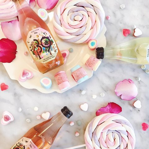Hope your #ValentinesDay treats are sweet, ciders are dry, and company is good! 🌸🌟 We're celebrating with some sugar, some bubbles, and some amazing co-workers! 💕🍾🥰 #No139cider . . . . . . . . . . . . . . . .  #wolffer #wolfferwine #wolfferestate #wolfferestatevineyard #wolfferstyle #wine #winemaking #winelover #winetasting #wolffercider #wolfferrose #rosecider #rosécider #chocolate #roséallday #Rosé #roséseason #galentines #loveyourself #pinkdrink #sparkling #bubbly #summereats #beach #montauk #hamptons #eastend #nyc