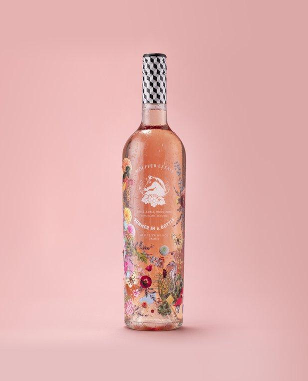 new summer in a bottle design