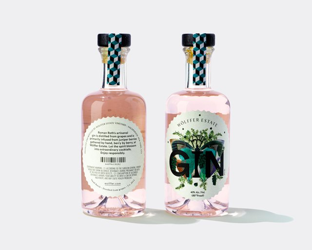 wolffer pink gin