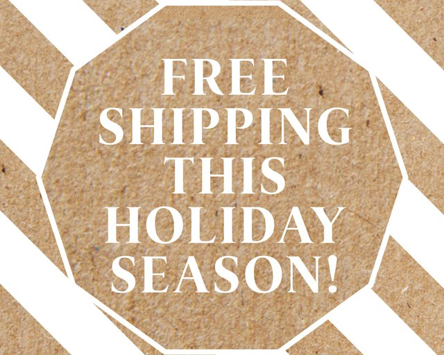 free shipping wolffer holiday season