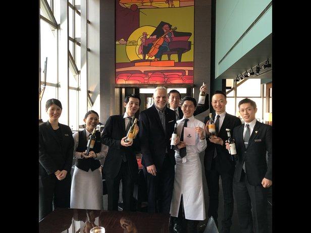 roman roth staff training at hyatt tokyo